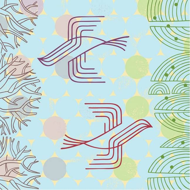 #Spring ©Thom Sevalrud #illustration #pattern #surfacedesign #i2iart