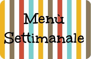 I vantaggi dell'avere un menù settimanale e il primo menù settimanale di MammaMoglieDonna: protagonisti la varietà e i pomodori, la verdura del momento!