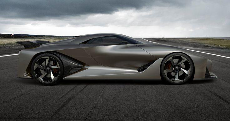 nissan concept 2020 vision gran turismo - the real driving simulator