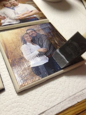 DIY picture coasters