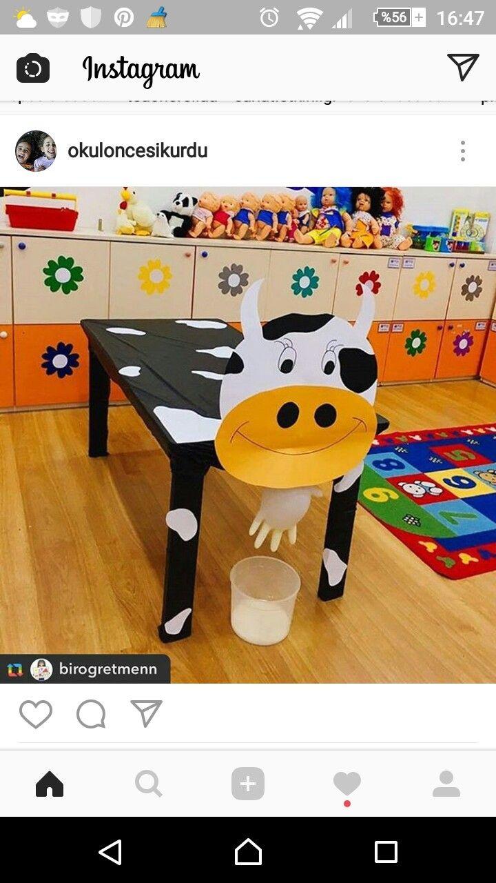 okulda dırama dersinde yapacağomız inek