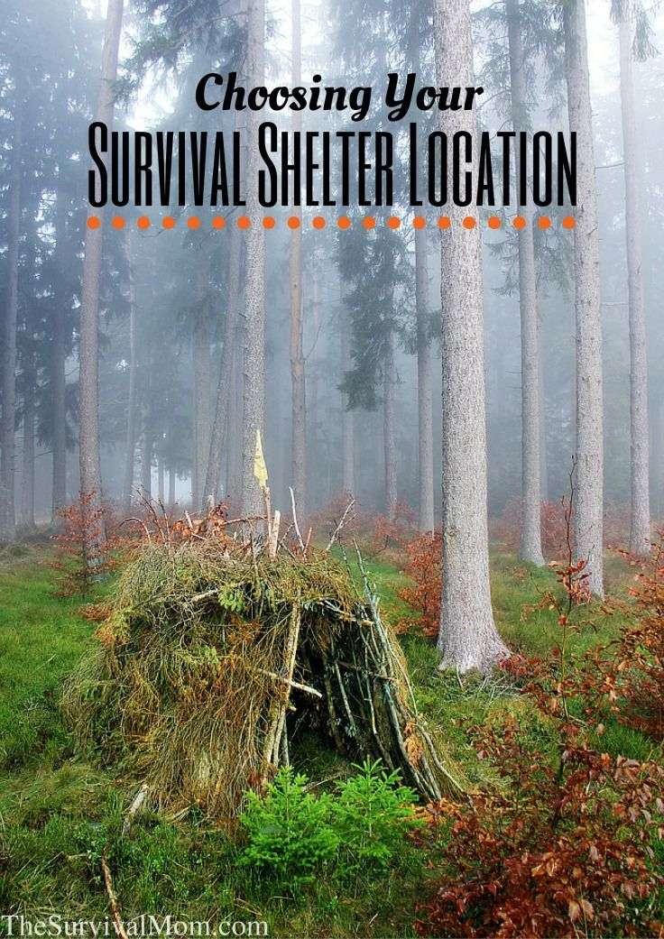 Choosing Your Survival Shelter Location || Review the basics for shelter materials and location.