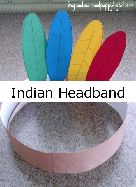Indian headband by FSPDT fun for thanksgiving or halloween dress up.