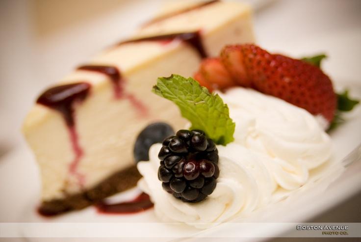 Delicious dessert at Glen Abbey Golf Club :)