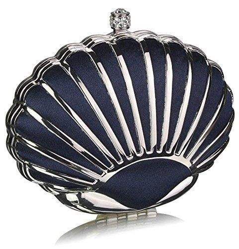NAVY-HARD-CASE-CLUTCH-BAG-WITH-A-ART-DECO-OYSTER-SHELL-DESIGN-DETAILING-LSE00163