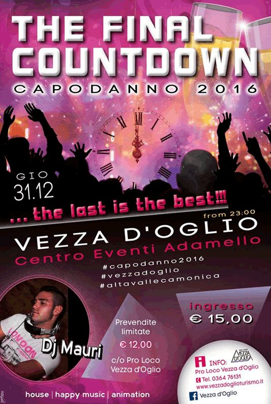 The Final Countdown a Vezza D'Oglio http://www.panesalamina.com/2015/43943-the-final-countdown-a-vezza-doglio-2.html