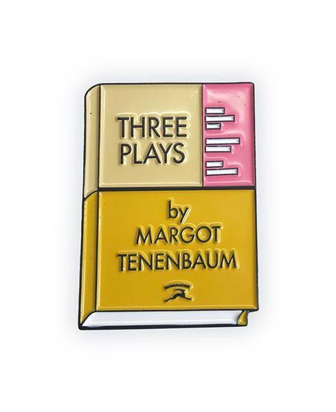 three plays enamel pin