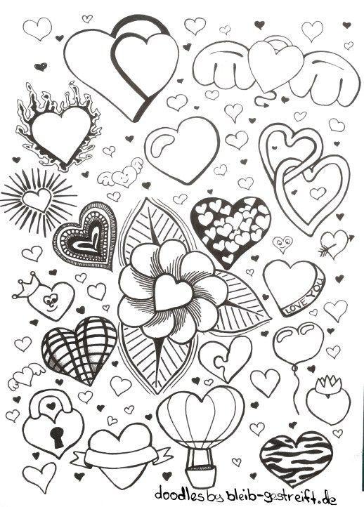 doodles zeichnen viele vorlagen fur deine inspiration und kreativitat art pinterest doodles drawing ideas and sketches