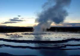 Energía renovable: -Geotérmica, aprovechamiento de las aguas termales para usos domésticos como calefacción, granjas etc