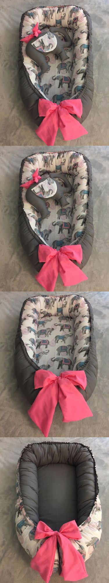Other Nursery Bedding 20421: Baby Nest Double Side With Toy Elephant Baby Portable Bed -> BUY IT NOW ONLY: $58 on eBay!