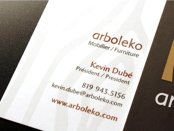 Image de marque et cartes professionnelles - Arboleko