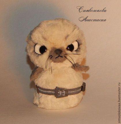 Короткий взрыватель - тюлень Порох(для вдохновения) - бежевый,порох,тюлень