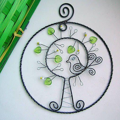 kevät puu birdie 11 cm