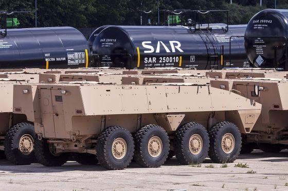Первые 40 бронетранспортеров Patria AMV поставлены в ОАЭ - ВПК.name
