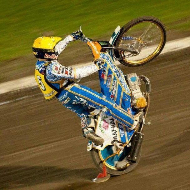Wheelie time. EMIL.