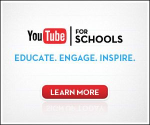 Access thousands of educational videos on YouTube EDU from within your school network by signing up for YouTube for Schools.