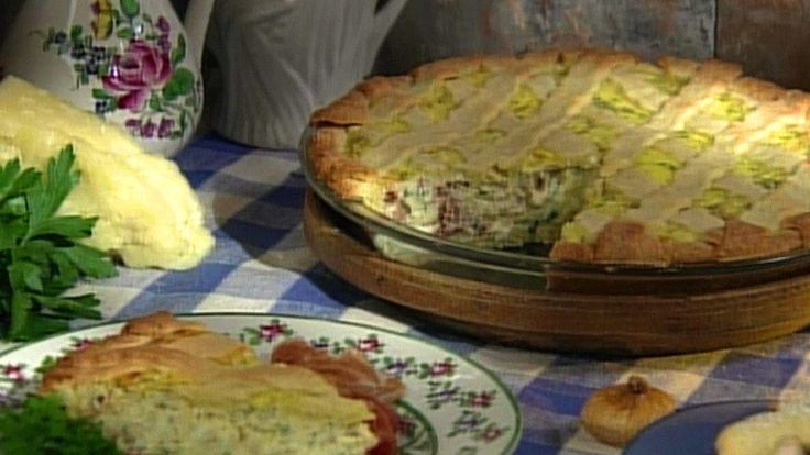 Watch now: Baking With Julia | Savory Pizza Rustica with Nick Malgieri | PBS Video