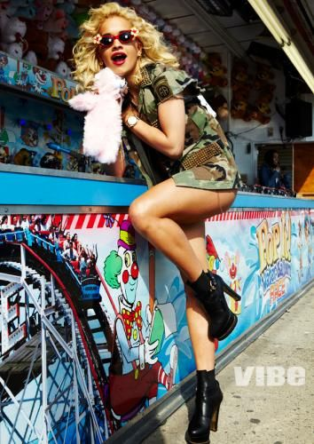 Candy Girl: Rita Ora Hits Coney Island For VIBE's Summer Issue (Check Out The Cutie's Sweet Pics!) | StyleBlazerCandies Girls, Ora Style, Coney Islands, Rita Ora