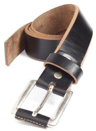 Men's Remo Tulliani 'Coraggio' Leather Belt