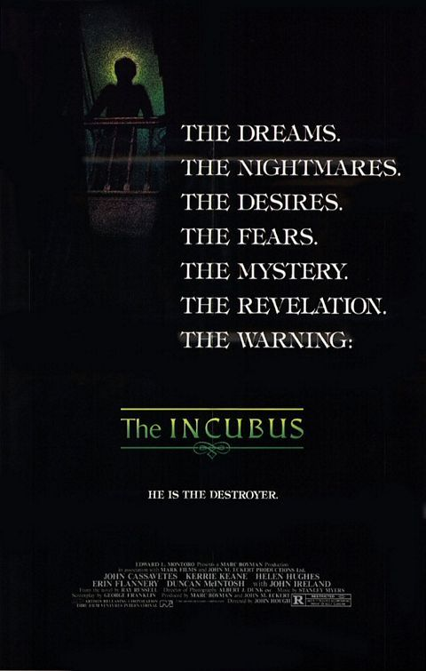 """Watch horror movies for FREE on our website! Check out this scary John Hugh movie, """"The Incubus"""".    Click here to watch: www.campcrystallakefest.com/#!watchflicks/c1yf0"""