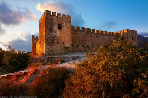 Frangokastello Castle, Crete, Greece