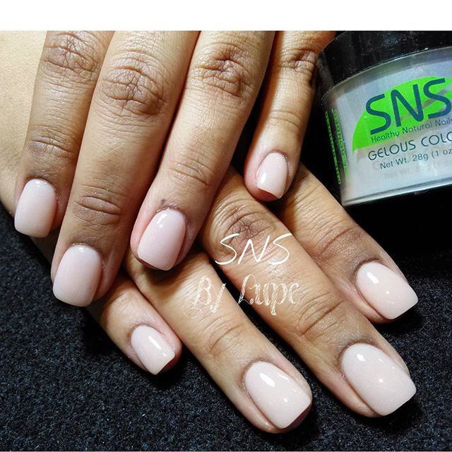 SNS nails (dipping powders ) . Not gel, not acrylics, but last longer than gel and as strong as acrylic !