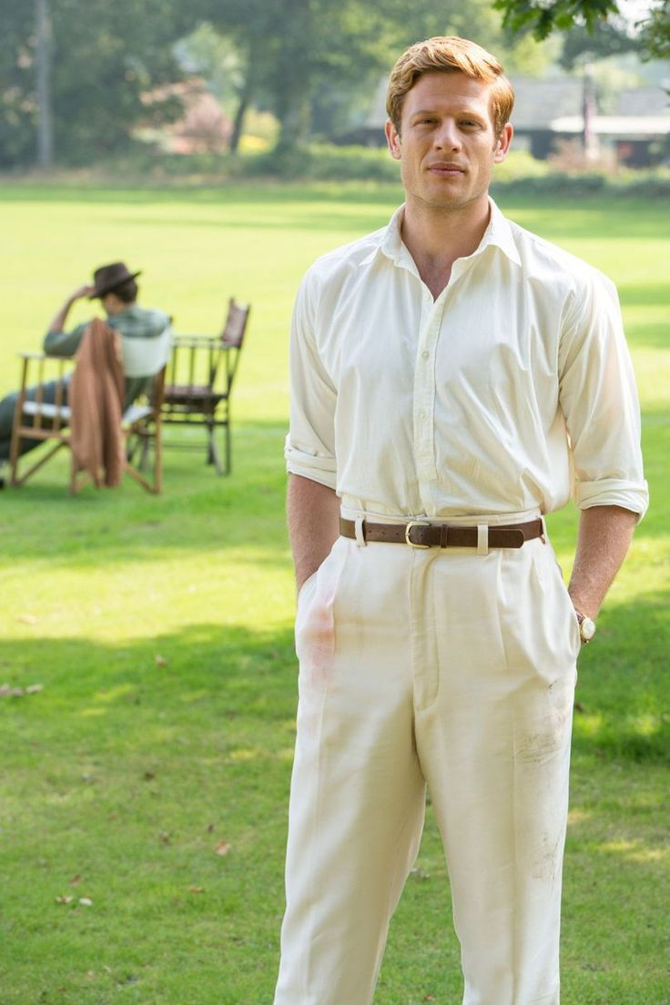 One more new image of James Norton as Sidney Chambers for Grantchester-3. Source