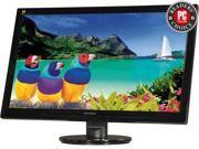 "ViewSonic VA2446M-LED Black 23.6"" 5ms Widescreen LED Backlight LCD Monitor Built-in Speakers"