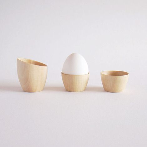 I'm always looking for the perfect egg cup.  I think I found it?