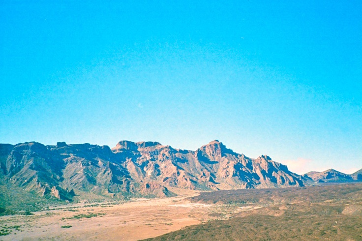 Rocky. Volcanic mountains. A photo I shot. Via my photoblog, Snapcracklelab.