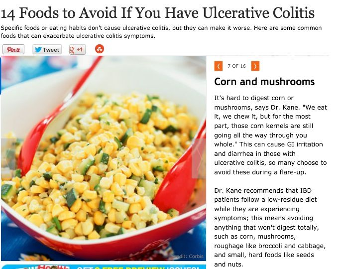 Foods Not To Eat When You Have Ulcerative Colitis
