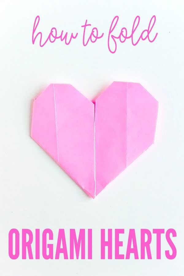 Origami Heart (Folding Instructions) - YouTube | 900x600