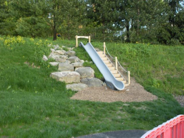 natural playgrounds co- slide