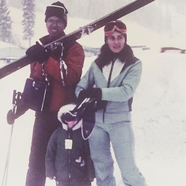 Happy Mother's Day to all those #mumswhoski Post a pic of your mum who skis. Tag her and she'll know you appreciate all those learn-to-ski efforts. Tag us and she'll go in the draw for a Kingswood t-shirt. Oh and thanks mum for making me a skier. This is my favourite shot of those early years. Winter Park. Late 1970s.