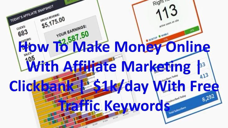 How To Make Money Online With and Why Affiliate Marketing   Clickbank    100+ Niches, Generating $1,000 to $100k/day on YouTube & Google With Free Traffic Keywords: https://jvz1.com/c/264263/251043