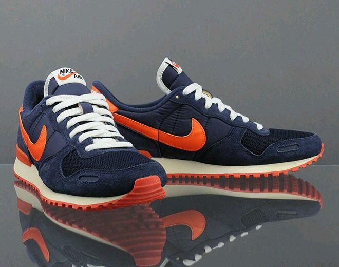 rival Marchito Paisaje  Nike Air Vortex Navy Blue / Orange   Sneakers men fashion, Sneakers  fashion, Nike free shoes