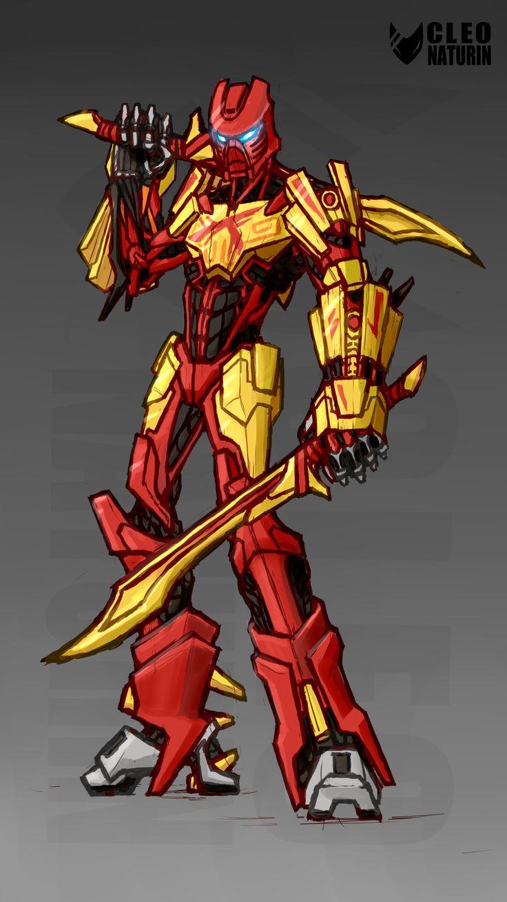 Tahu 2015 Bionicle by Kanoro-Studio.deviantart.com on ...  Tahu 2015 Bioni...