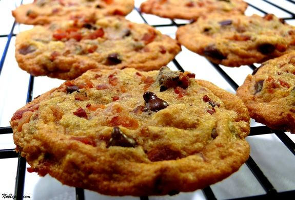 Maple Bacon Chocolate Chip Cookies | Noble Pig