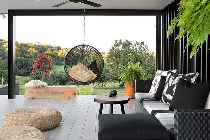 You have to see this monochrome glass house http://www.queenslandhomes.com.au/monochrome-glass-house/