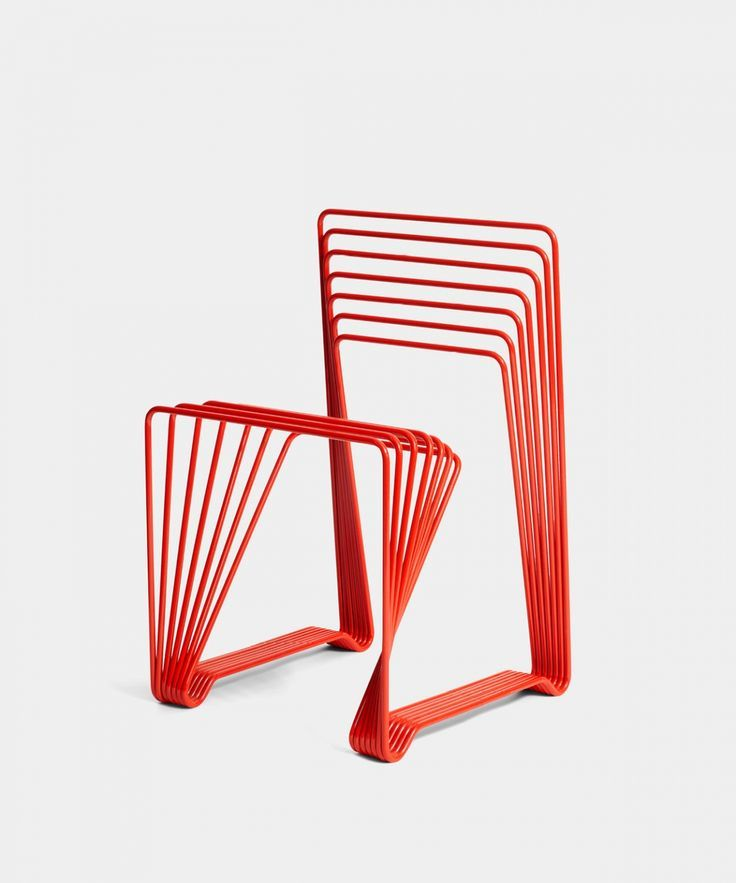Red Chair | Alexander Lervik  #chair #chairdesign #chairideas #assises  #chairs