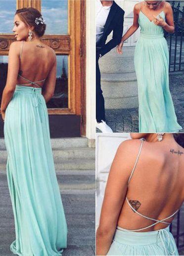 Backless Prom Dress,Prom Dress,Charming Prom Dresses, Floor-Length Evening Dresses,Prom Dresses