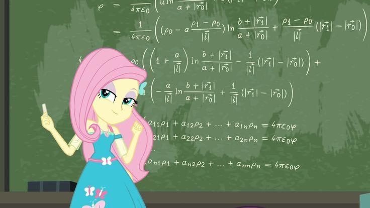 #1581538 - a little birdie told me, chalk, chalkboard, equestria girls, fancy mathematics, fluttershy, math, safe, spoiler:eqg series - Derpibooru - My Little Pony: Friendship is Magic Imageboard