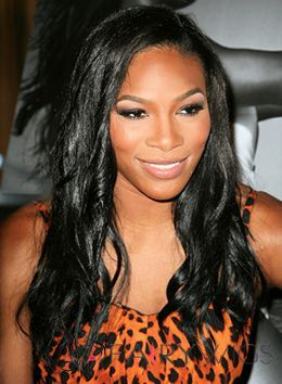 Mysterious Long Wavy Black African American Lace Front Wigs for Women