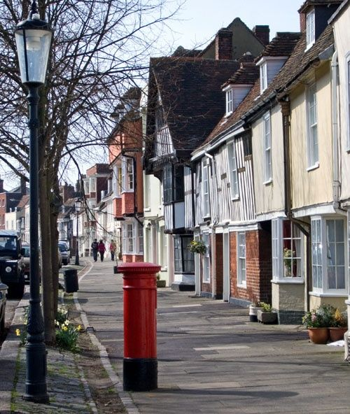 Abbey Street, Faversham, Kent This must be one of the most charming streets in the country. It leads from the old market square down to the docks on Faversham Creek A picture of: Faversham, Kent