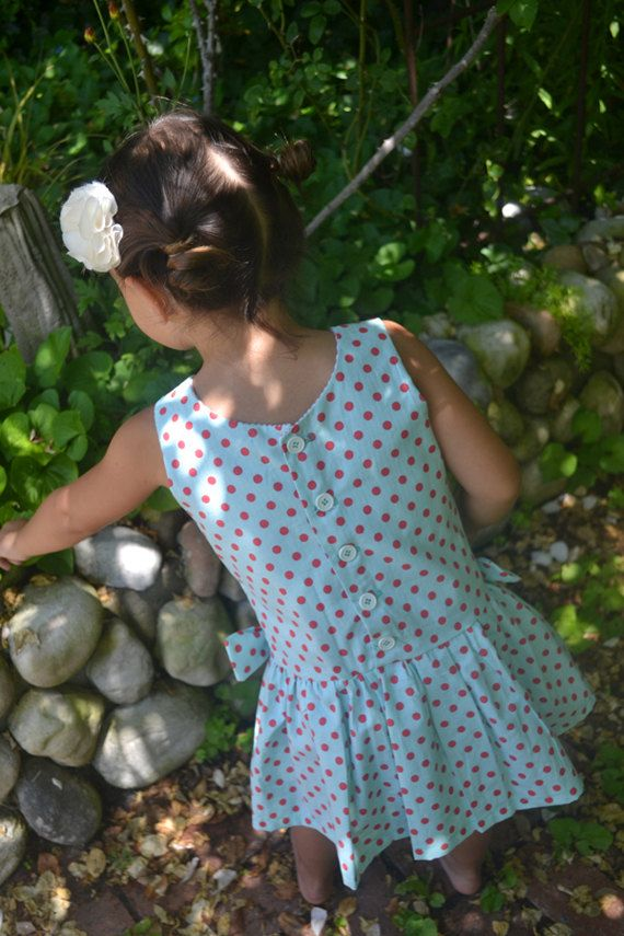 INSTANT DOWNLOAD Morgan Dress sizes 12/18 months to 8 PDF