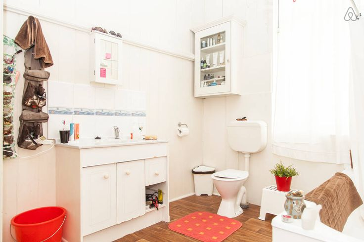 Biggest bathroom makes it easy to get ready!