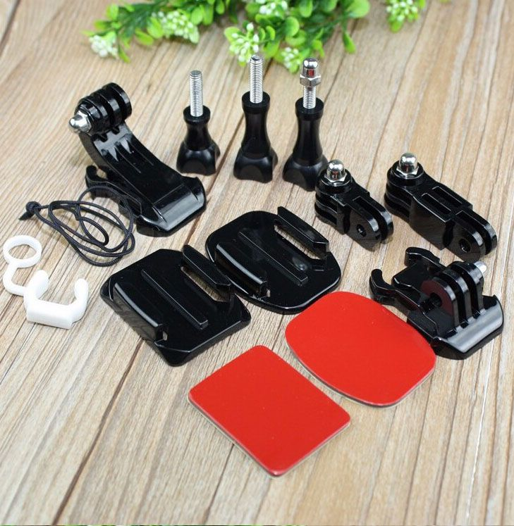 13 Pcs/lot Kit Set Elements Silicone Locking Rubber Tripod Mount Buckle Etc Go pro Accessories for GoPro Hero 3 + /3/2/1 // $37.65 // Free shipping worldwide // #GoPro #goprooftheday #goprohero3 #goprohero #goprohero4 #goprouniverse #goprophotography #goprophotography_ #goproeverything #gopro3 #gopro4 #goproid #goproselfie #gopronation #goprolife #goprohero3plus #goproapp #goprophoto #goprodreams #goproph #goprowater #gopro_epic #gopro_4life #goprovip #goprovideo