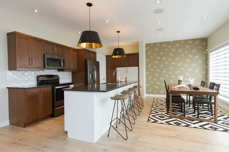 Stan Bailie Showhome, Wood Cabinets, Open Concept with Dining Room