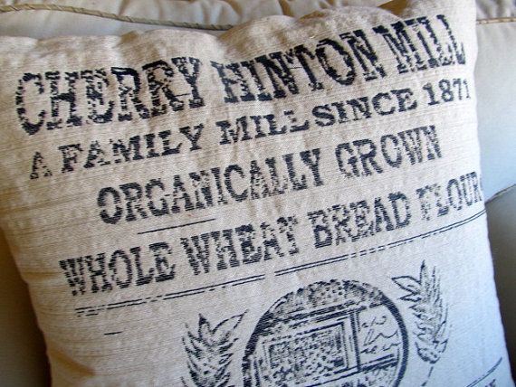 CHERRY HINTON MILLS 26x26 Super Large Pillow Cover by yiayias