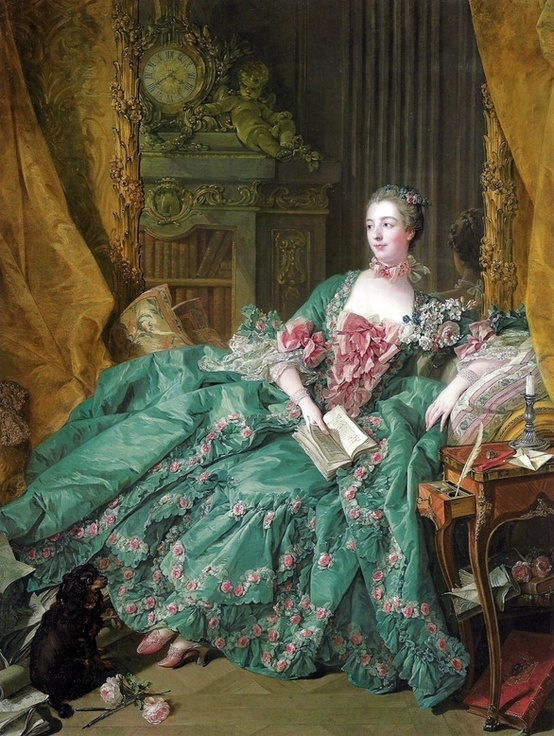 Madame Pompadour: The most famous of all French royal mistresses and a remarkable, intelligent woman; her premature death had a profound effect on her lover, King Louis XV